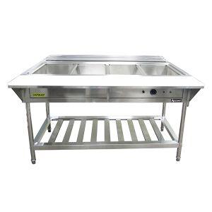 Adcraft 4 Bay Waterbath Steam Table