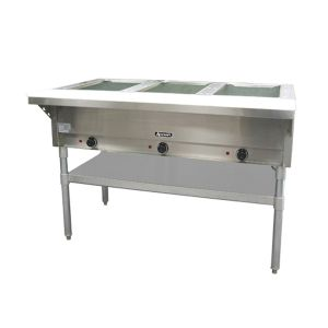 Adcraft 3 Bay Steam Table